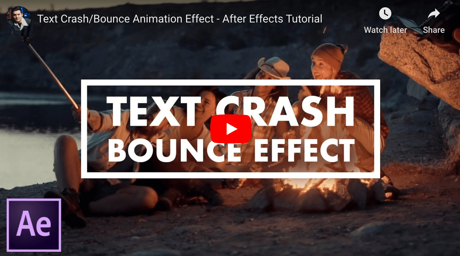 Text Effexcts in After Effects