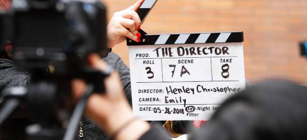 Clapper Board - Auditions and the first take