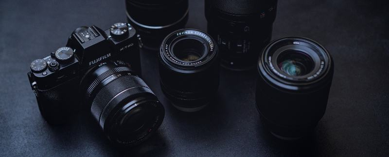 Select a fast lens